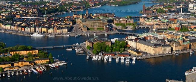 Многочисленные острова Стокгольма
