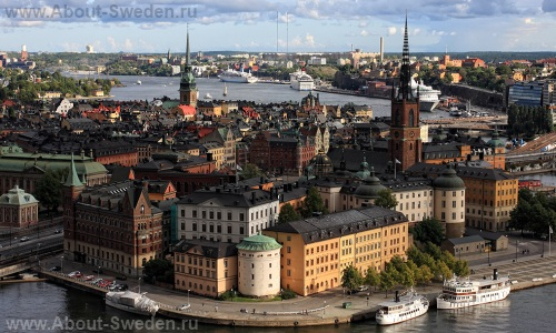 Исторический центр Стокгольма