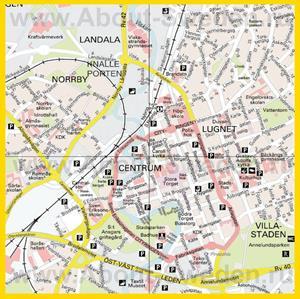 Подробная карта города Бурос