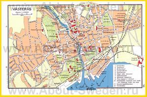 Подробная карта города Вестерос