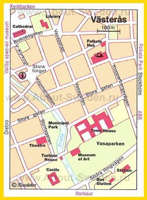 Туристическая карта Вестероса с достопримечательностями
