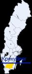 Крунуберг на карте Швеции