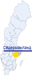 Сёдерманланд на карте Швеции