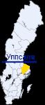 Уппсала на карте Швеции