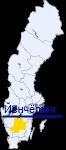 Йёнчёпинг на карте Швеции